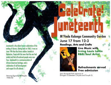 Juneteenth Coming Saturday, June 17