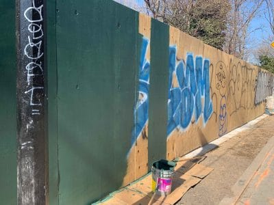 Progress on Forsyth Street Project